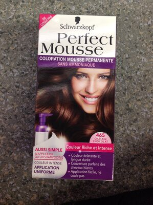 Perfect Mousse Coloration châtain 500 - Produit - fr