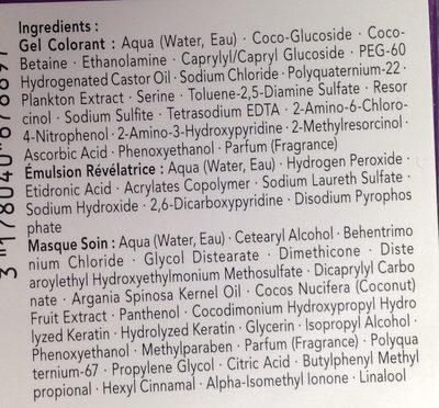 Perfect Mousse Blond Praline 750 - Ingredients