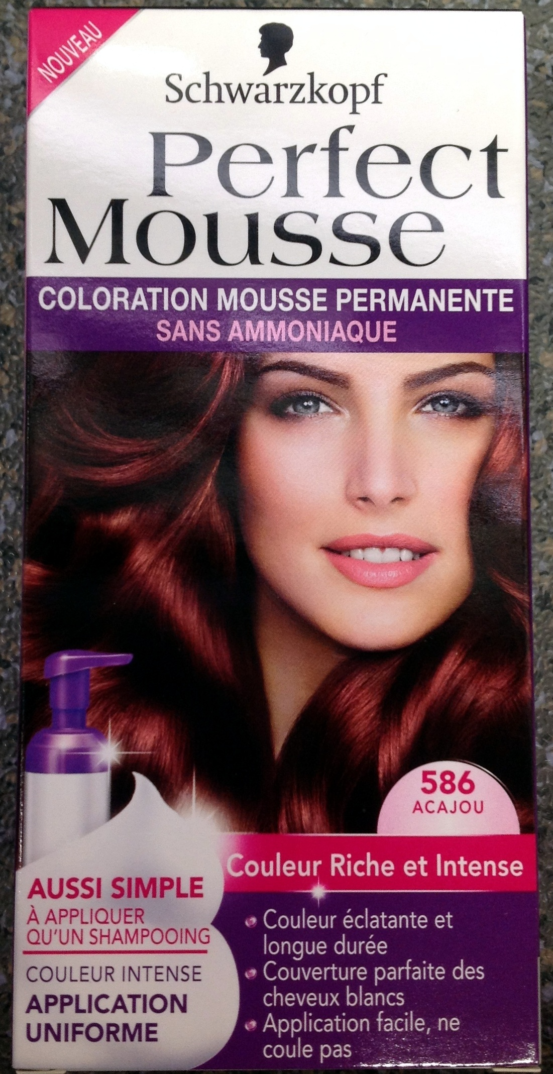 Perfect Mousse Acajou 586 - Produit
