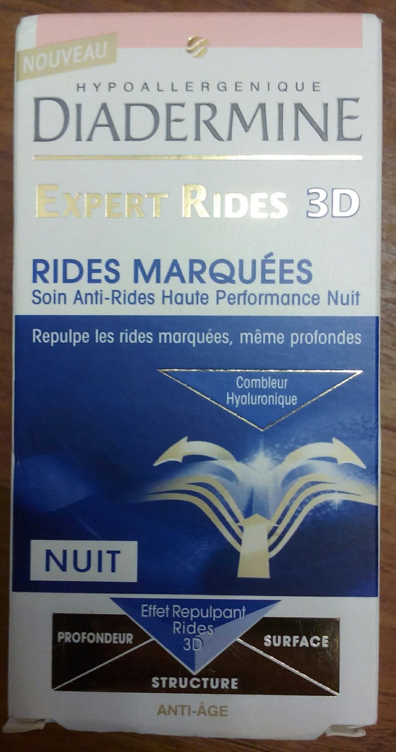 Expert rides 3D - Soin anti-rides haute performance nuit - Product - fr