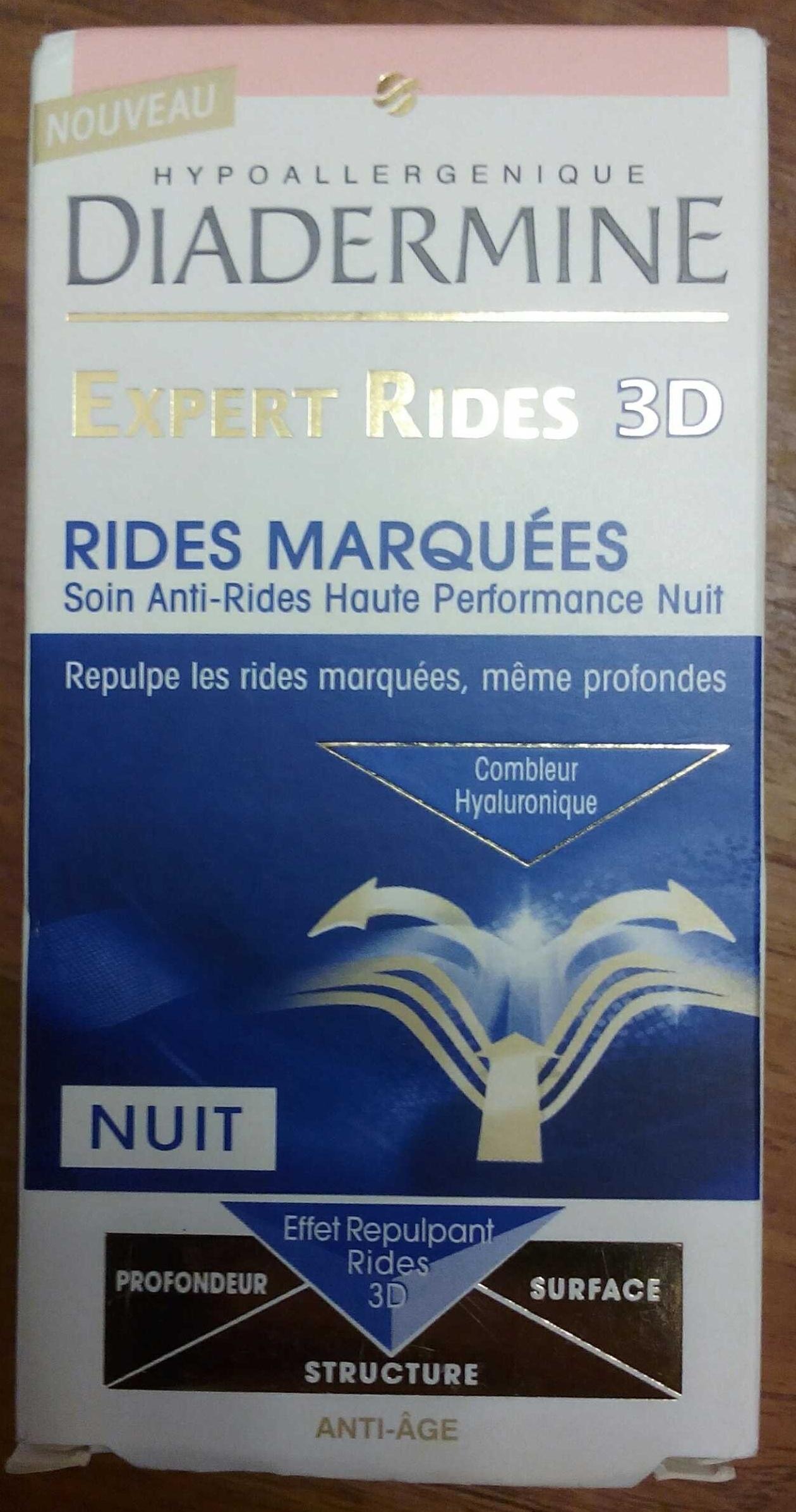 Expert rides 3D - Soin anti-rides haute performance nuit - Produit