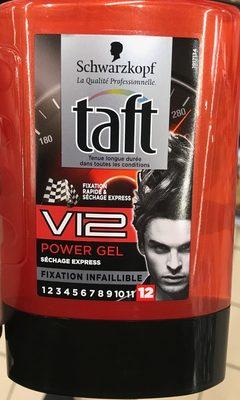 Taft V12 Power Gel - Produit