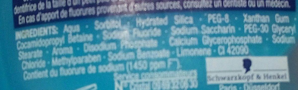 Teraxyl junior 2 en 1 - Ingredients - fr