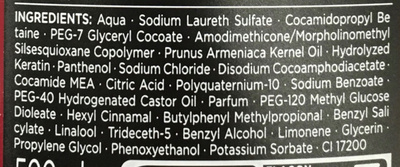 Syoss Eclat Lumière Shampooing - Ingredients