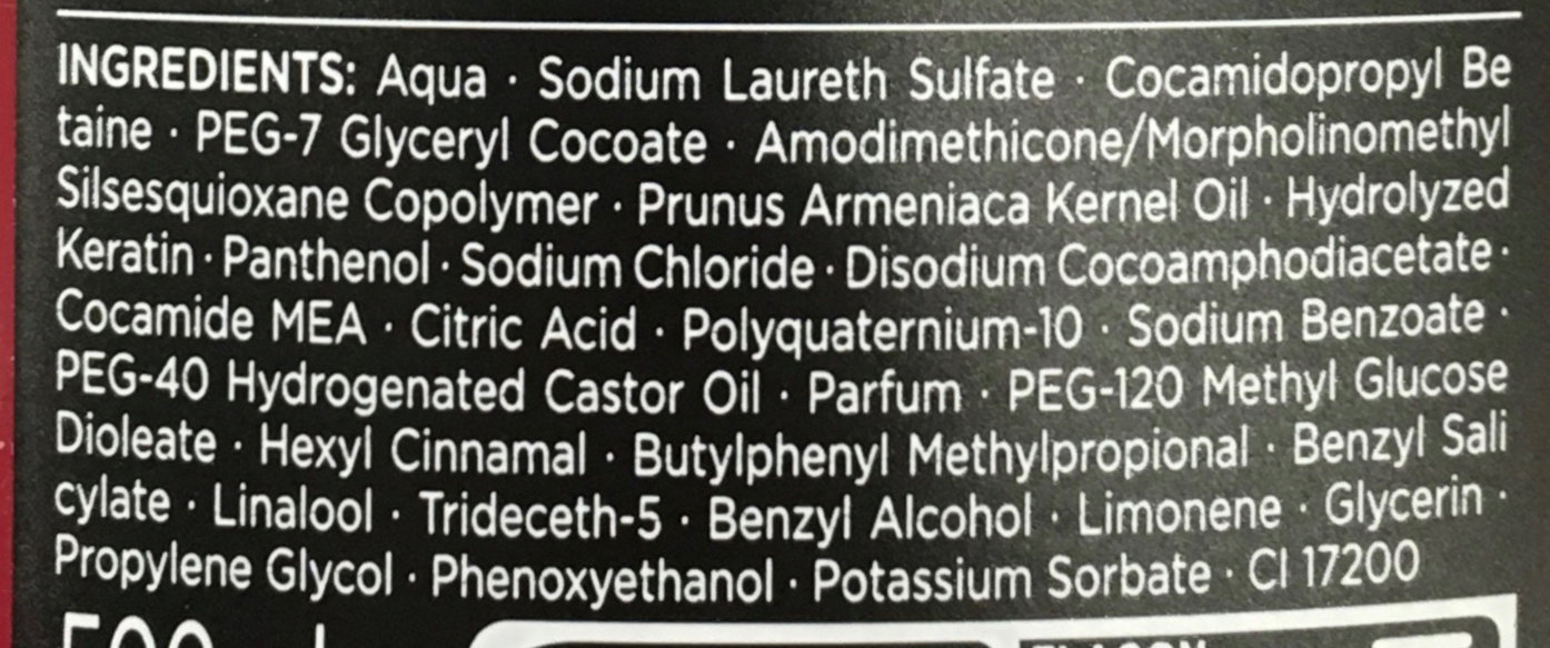 Syoss Eclat Lumière Shampooing - Ingredients - fr