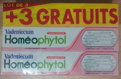Vademecum Homéophytol - Produit - fr