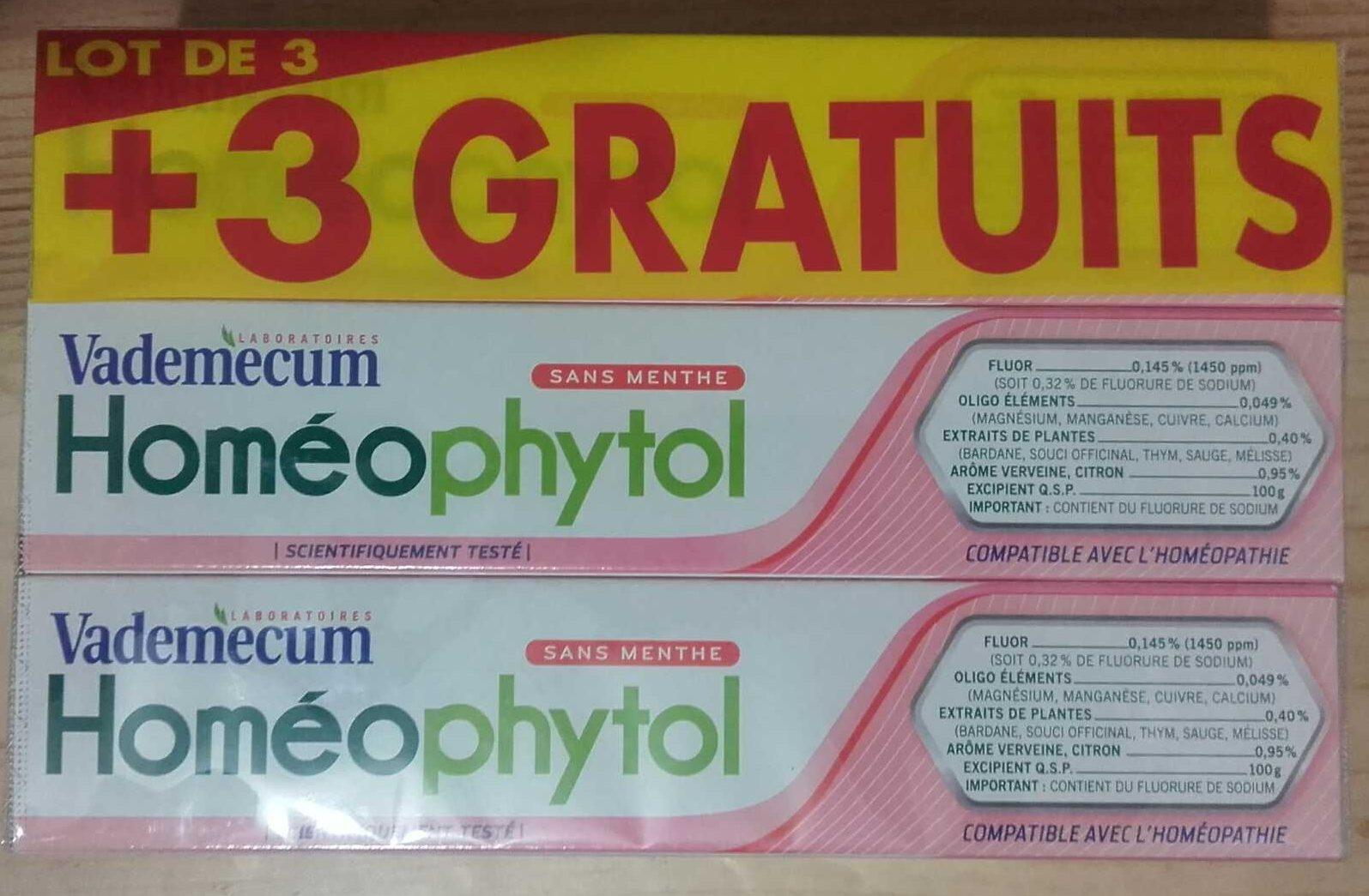 Vademecum Homéophytol - Produit