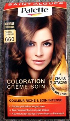 Coloration crème soin à l'huile d'argan Châtain caramel 660 - Product