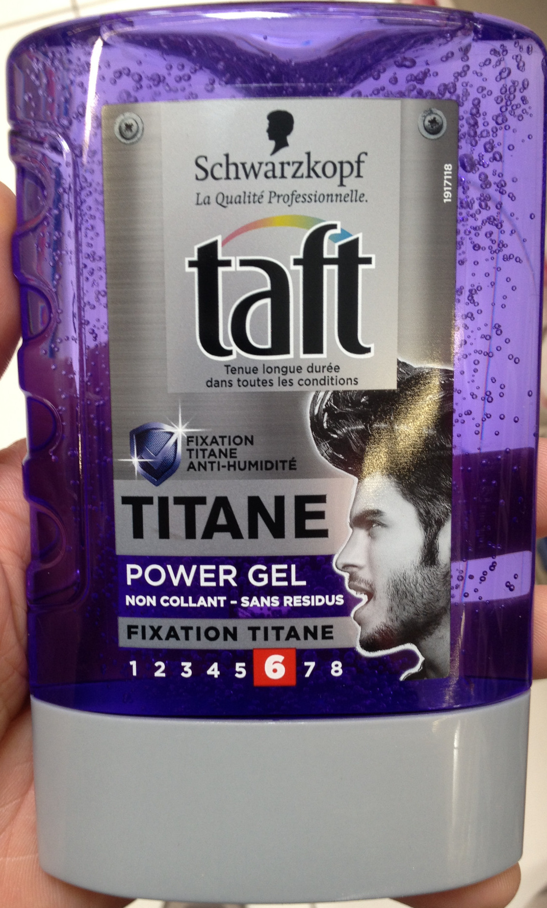 Titane Power gel - Product
