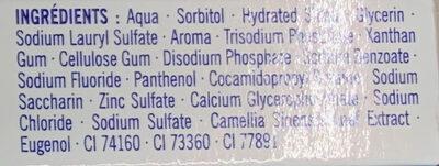 Protection Antibactérienne - Ingrédients - fr
