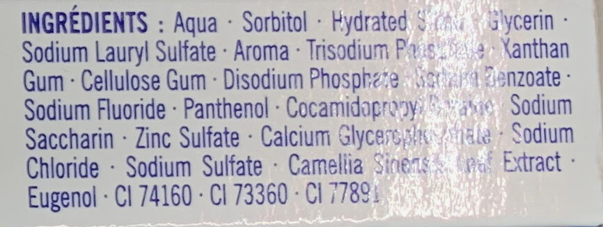Protection Antibactérienne - Ingredients - fr