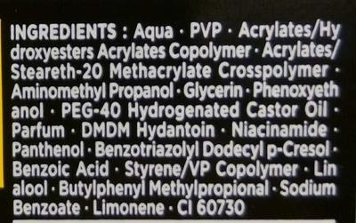 Super Glue Power Gel - Ingredients