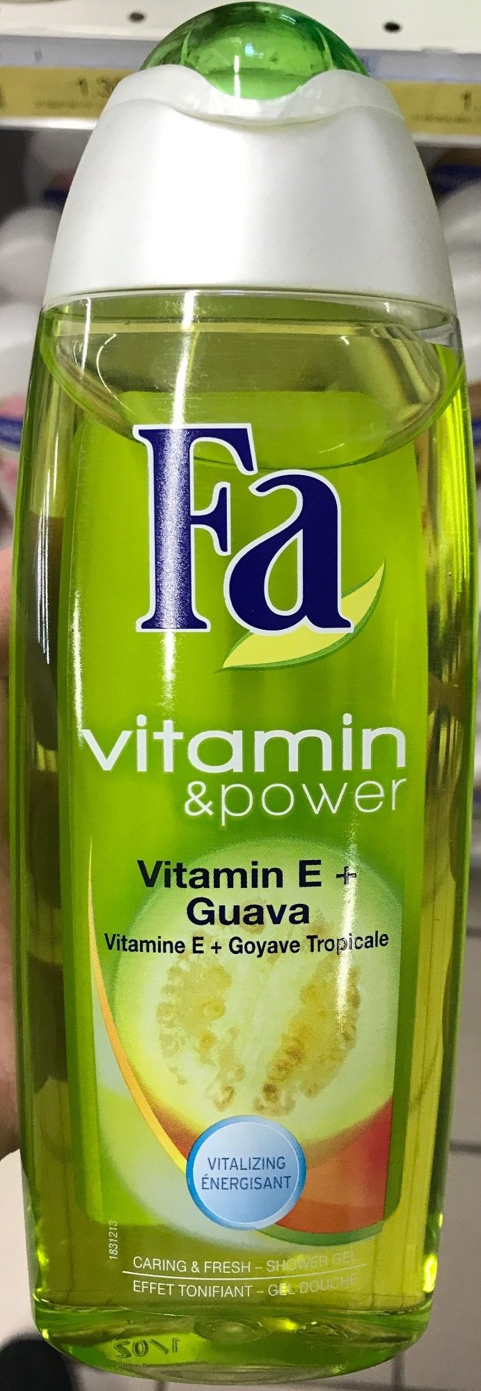 Vitamin & Power Vitamin E + Guava Energisant - Produit