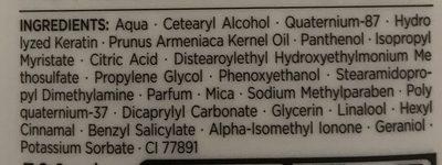 Syoss Kératine Perfection après shampooing (lot de 2) - Ingredients - fr