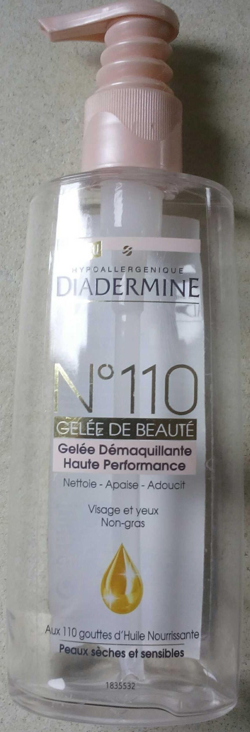 N°110 Gelée de beauté - Produit