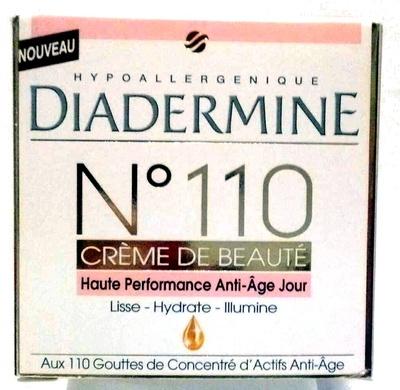 N°110 Crème de beauté haute performance anti-âge jour - Product - fr