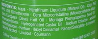 Soin huile hydratant - Ingredients
