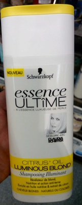 Essence Ultîme Citrus Oil Luminous Blond Shampooing illuminant - Product