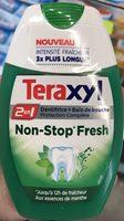 Teraxyl - 2 en 1 - Dentifrice + Bain de Bouche - Non-Stop Fresh aux essences de Menthe - Product - fr