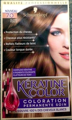 Kératine Color Blond Foncé 7.0 - Product