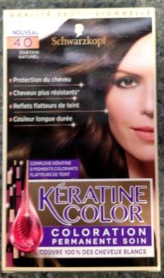 Kératine Color Châtain Naturel 4.0 - Product