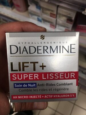 Lift+ Super Lisseur - Soin de nuit anti-rides comblant - Product