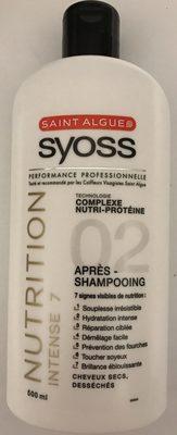 Syoss Nutrition Intense 7 Après-Shampooing - Produit