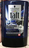 Taft Electro Force Power Gel Fixation surpuissante 72H - Product - fr