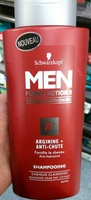 Men Power Action 3 Arginie + Anti-chute - Product - fr