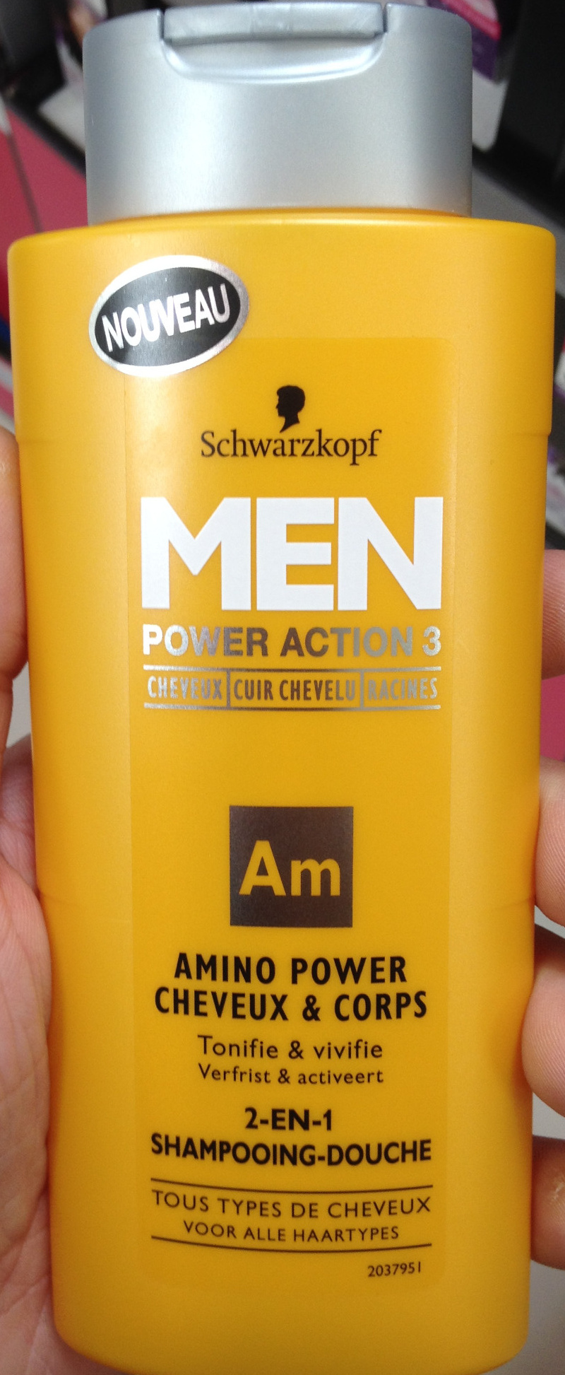 Amino Power cheveux & corps - Product - fr