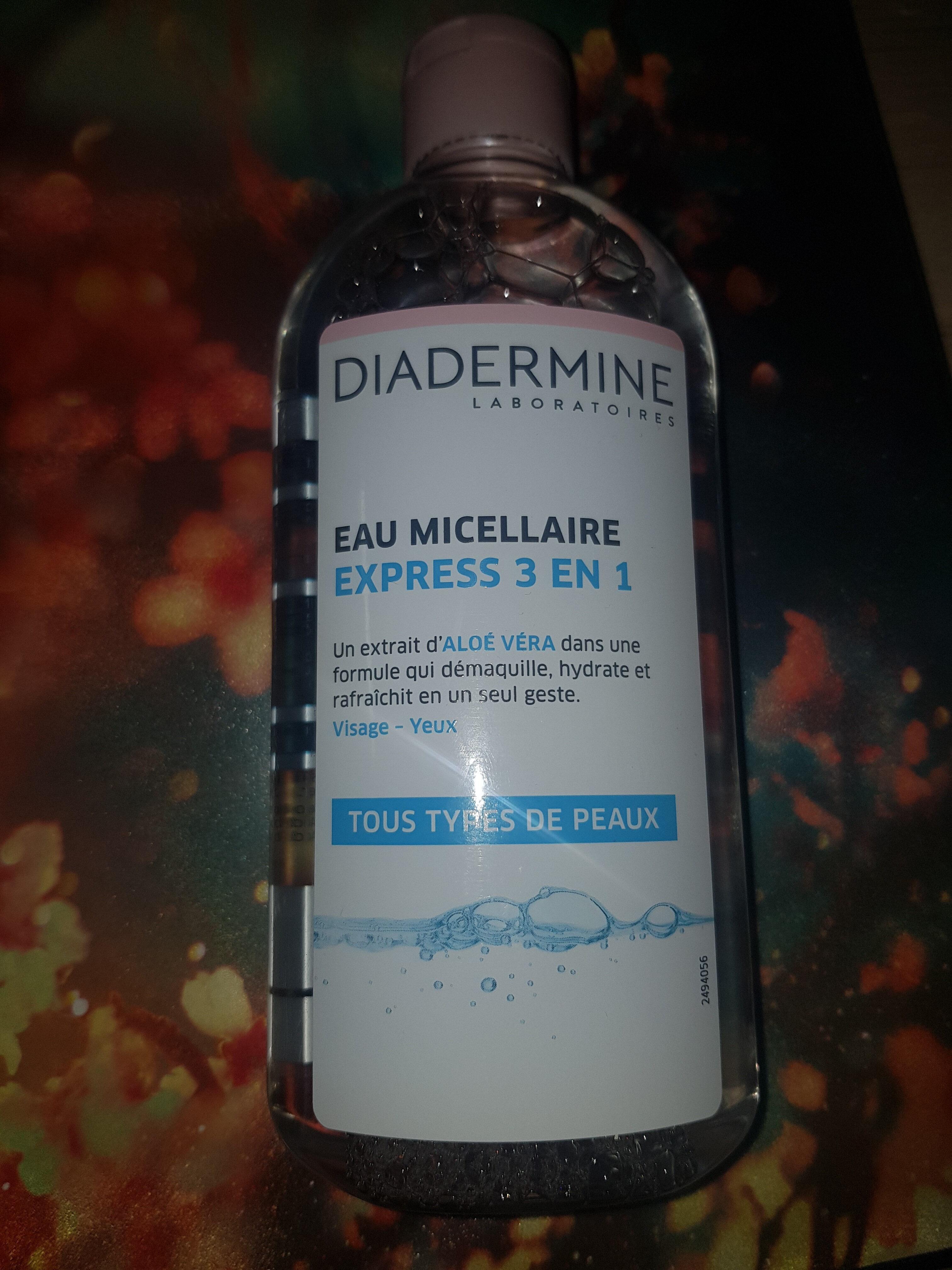 eau micellaire express 3 en 1 - Product