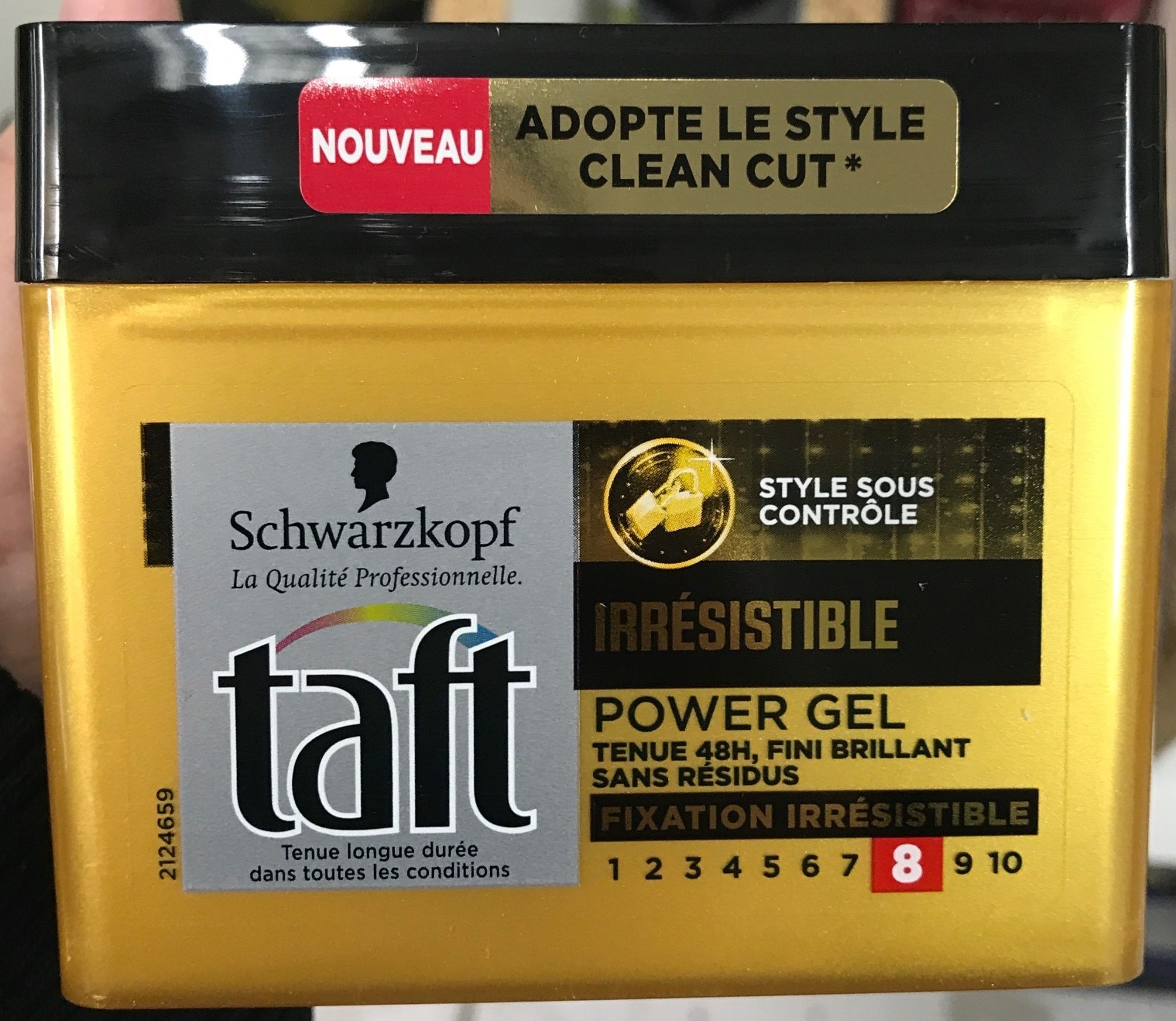 Taft Irrésistible Power Gel 8 - Product