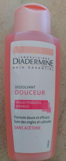 Dissolvant douceur - Produit