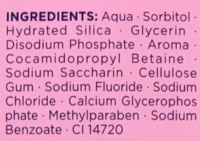 Mon premier Teraxyl goût Fraise - Ingredients - fr