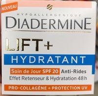 Lift+ Hydratant Soin de Jour SPF 20 Pro-Collagène + Protection UV - Produit