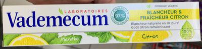 Blancheur & Fraîcheur Citron - Product - fr