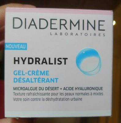 Hydralist gel-crème désaltérant - Produit