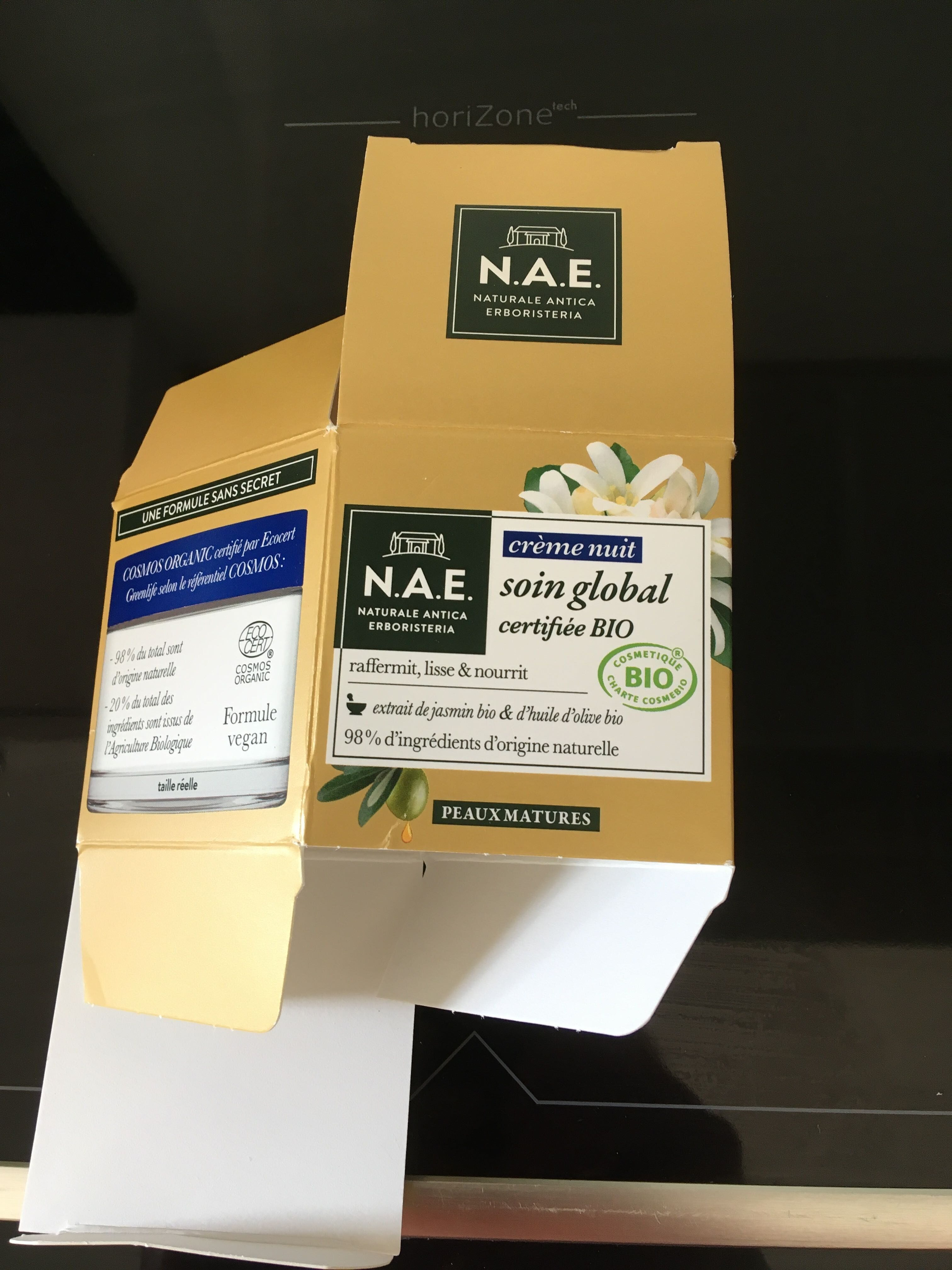 Crème nuit soin global - Product - fr