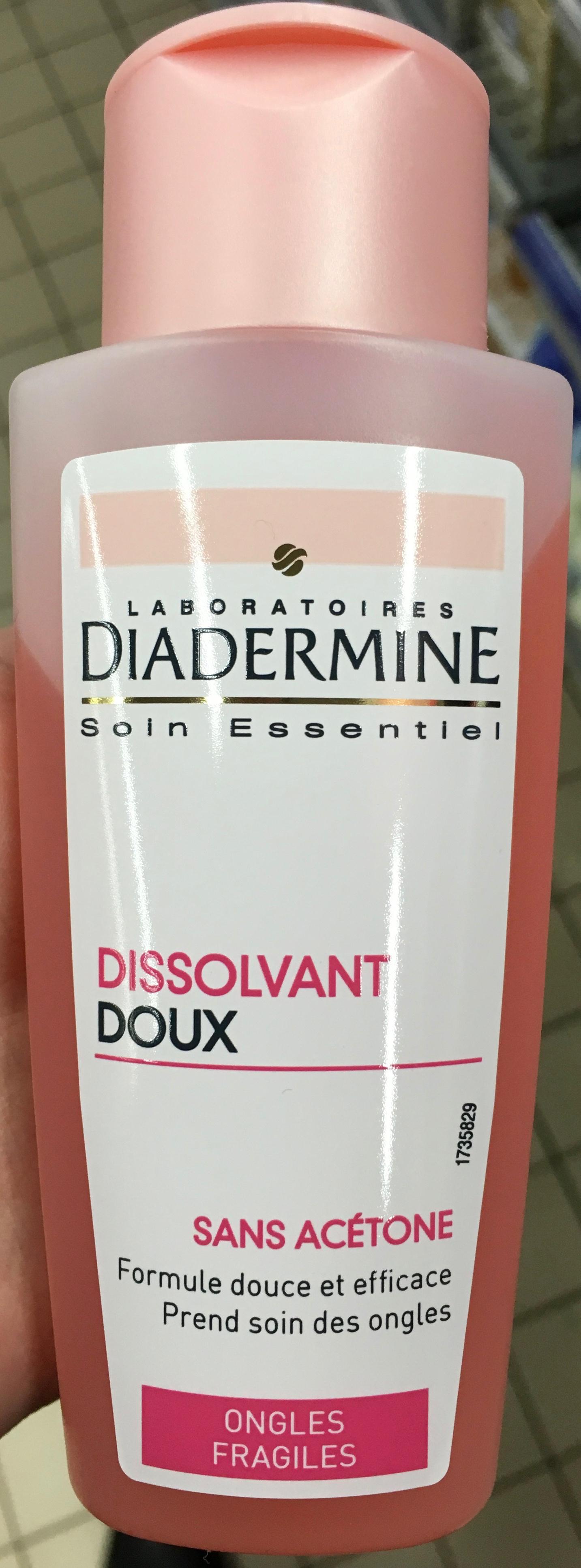 Dissolvant Doux sans acétone - Produit - fr