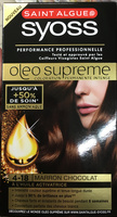 Syoss Oleo Supreme 4-18 Marron Chocolat - Product - fr