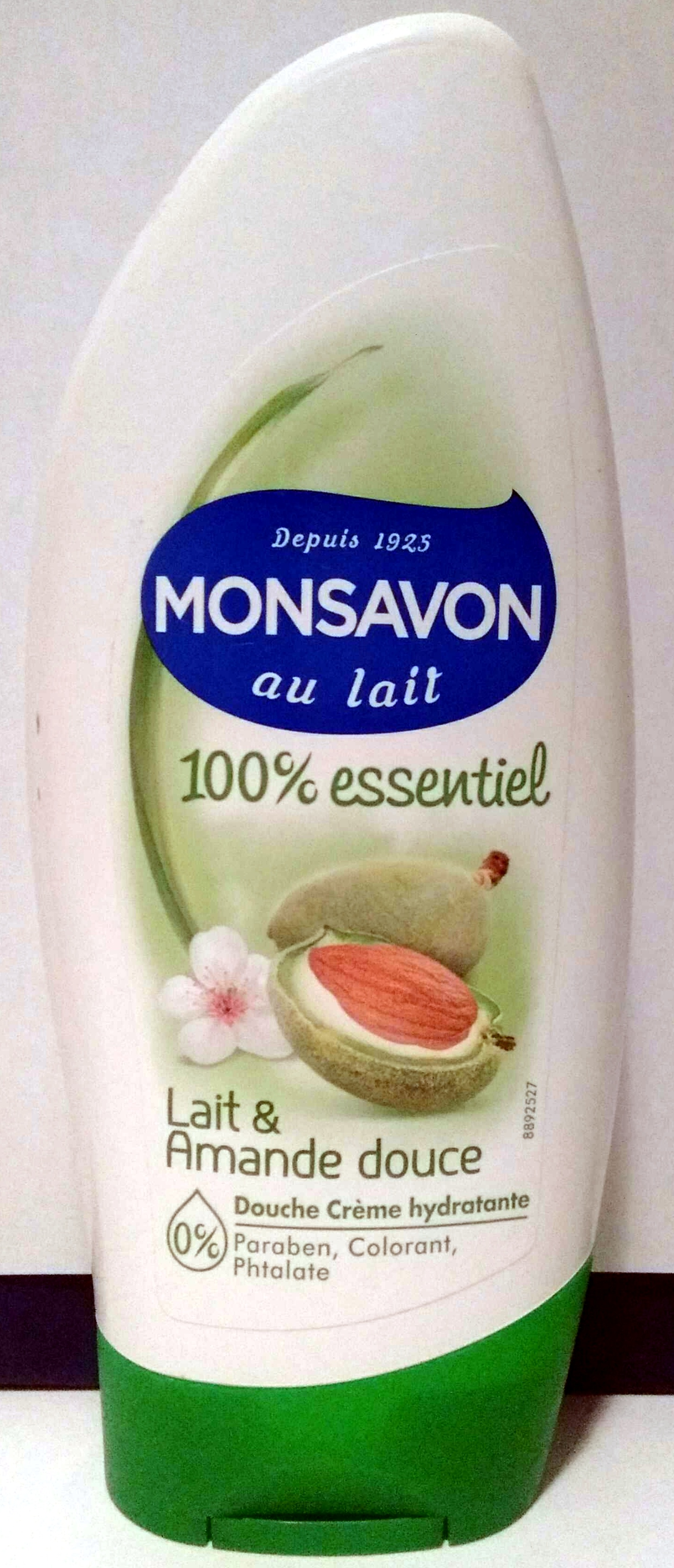 100% Essentiel Lait & Amande douce - Product - fr
