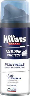 Williams Mousse à Raser Peau Fragile - Produit - fr