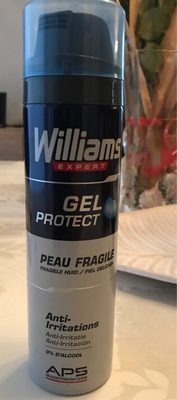 Williams Gel à Raser Peau Fragile - Product - fr