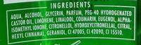 Williams Après Rasage Vert Sauvage - Ingredients - fr