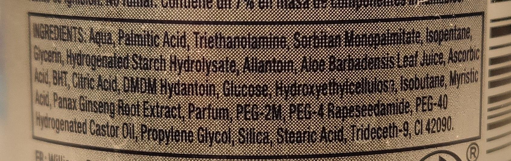 Williams Gel Protect - Ingredients - en