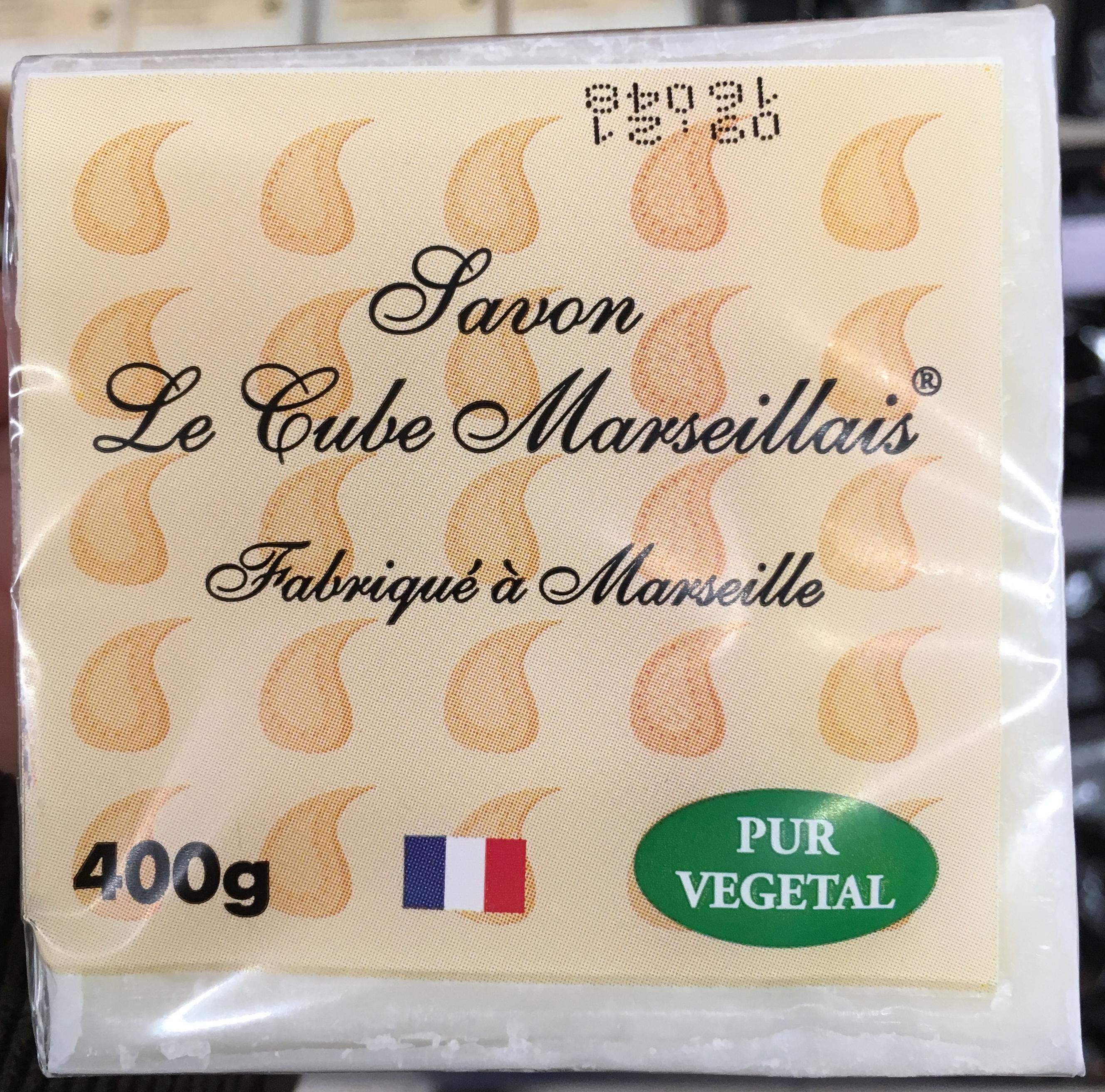 Savon Le Cube Marseillais - Produit - fr
