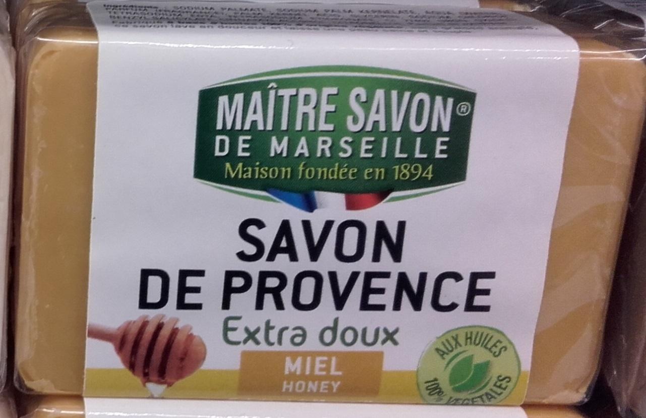 Savon de Provence extra doux Miel - Produit