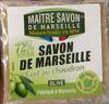 Savon de Marseille cuit au chaudron Olive - Product