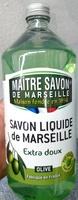 Savon liquide de Marseille extra doux Olive - Produit