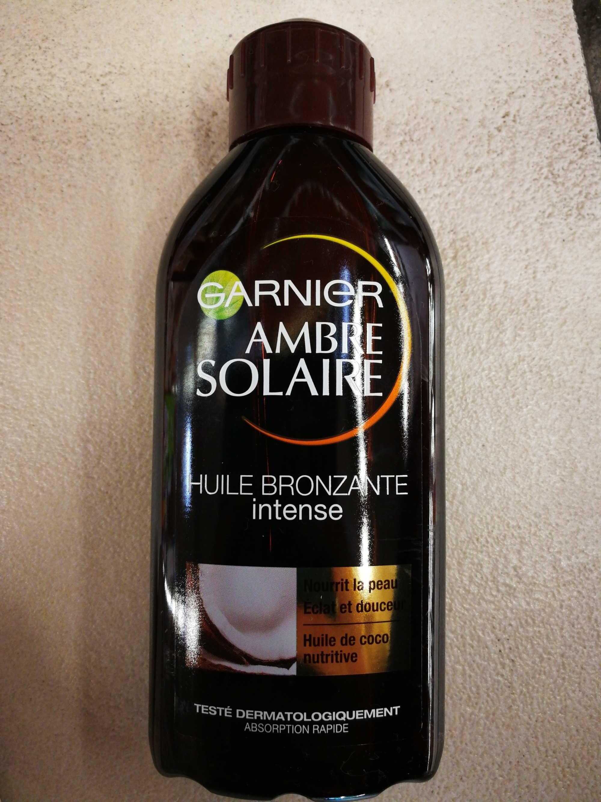 Huile bronzante intense - Product - fr